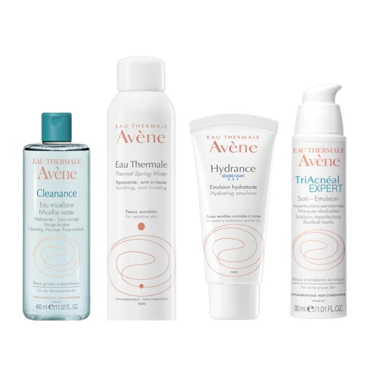 Avene Skincare Products for Facials